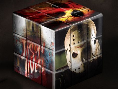(RELEASED) FRIDAY THE 13TH (2009) PUZZLE BLOX JASON VOORHEES
