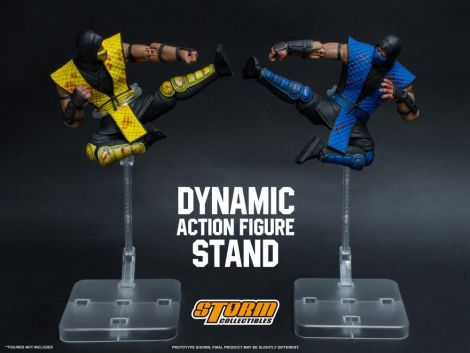 (RELEASED) DYNAMIC ACTION ADJUSTABLE FIGURE STAND