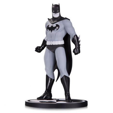 (RELEASED) BATMAN BLACK AND WHITE BATMAN BY AMANDA CONNER STATUE