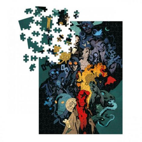 (RELEASED) HELLBOY UNIVERSE PUZZLE 1000PC