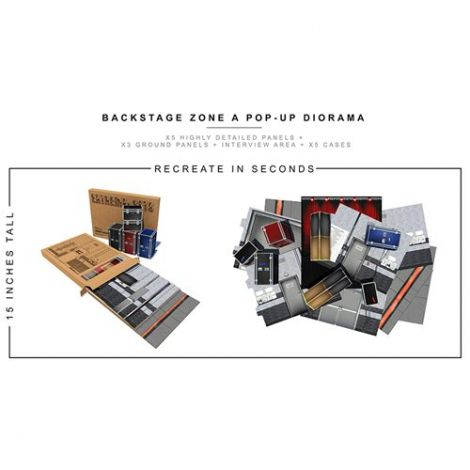 (PRE-ORDER) BACKSTAGE ZONE A 1/12 SCALE POP-UP DIORAMA