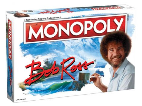 (RELEASED) MONOPOLY: BOB ROSS