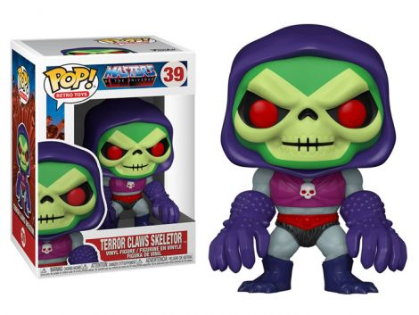 (PRE-ORDER) POP! TV: MASTERS OF THE UNIVERSE - SKELETOR (WITH TERROR CLAWS)