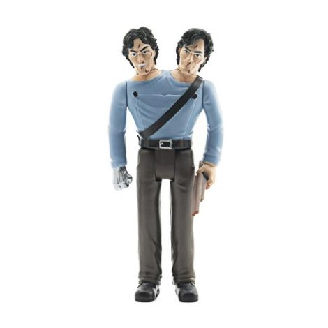 (RELEASED) ARMY OF DARKNESS REACTION TWO-HEADED ASH FIGURE