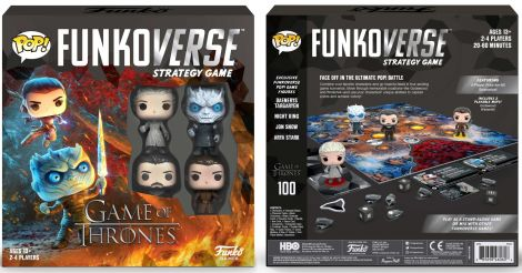 (RELEASED) POP! FUNKOVERSE: GAME OF THRONES STRATEGY GAME