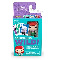 (RELEASED) SOMETHING WILD! CARD GAME- DISNEY LITTLE MURMAID
