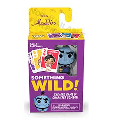 (RELEASED) SOMETHING WILD! CARD GAME- DISNEY ALADDIN