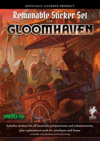 (RELEASED) GLOOMHAVEN REMOVABLE STICKER SET