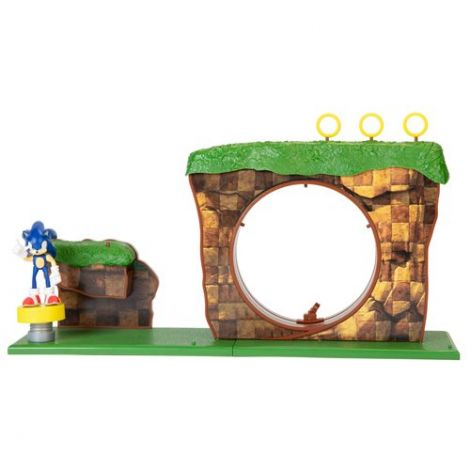 (PRE-ORDER) SONIC THE HEDGEHOG GREEN HILL ZONE PLAYSET