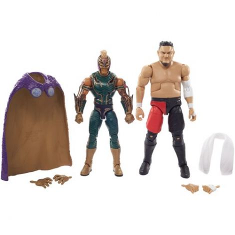 (PRE-ORDER) WWE ELITE COLLECTION REY MYSTERIO & SAMOA JOE TWO-PACK