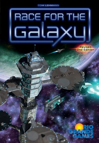 (RELEASED) RACE FOR THE GALAXY - REVISED 2ND EDITION
