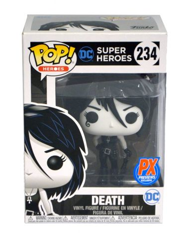 (RELEASED) POP! HEROES DC DEATH - PX EXCLUSIVE