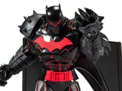(RELEASED) BATMAN AND ROBIN DC MULTIVERSE BATMAN (HELLBAT SUIT) ACTION FIGURE
