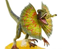 (PRE-ORDER) JURASSIC PARK AMBER COLLECTION DILOPHOSAURUS