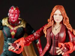 (RELEASED) AVENGERS: INFINITY WAR MARVEL LEGENDS SCARLET WITCH & VISION TWO-PACK
