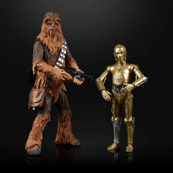 (RELEASED) STAR WARS BLACK SERIES E5 CHEWBACCA & C-3P0