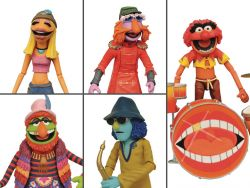 (RELEASED) THE MUPPETS BAND MEMBERS DELUXE ACTION FIGURE SDCC 2020 EXCLUSIVE BOX SET