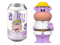 (RELEASED) HANNA BARBERA VINYL SODA PETER POTAMUS LIMITED EDITION FIGURE