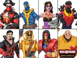 (COMING SOON) DEADPOOL MARVEL LEGENDS WAVE 3 SET OF 7 FIGURES (STRONG GUY BAF) (RE-STOCK)