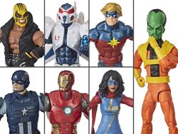 (PRE-ORDER) MARVEL'S AVENGERS MARVEL LEGENDS WAVE 1 SET OF 7 FIGURES (ABOMINATION BAF)