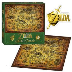 (RELEASED) PUZZLE 550pc THE LEGEND of ZELDA HYRULE MAP